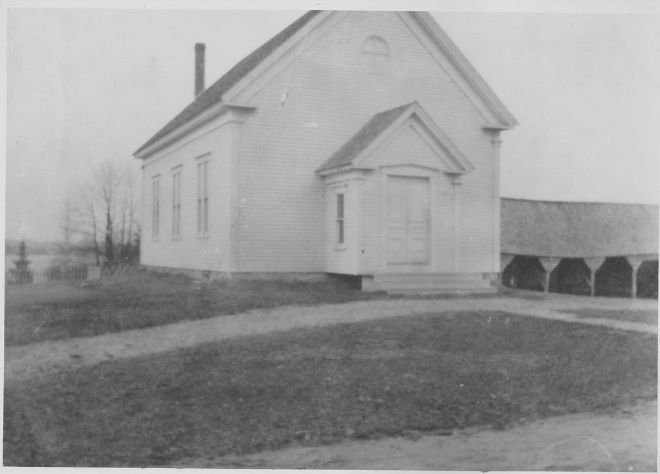 Earliest Picture Friends Meeting House 1884